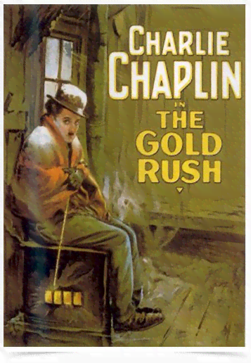 Poster Cinema Filme The Gold Rush