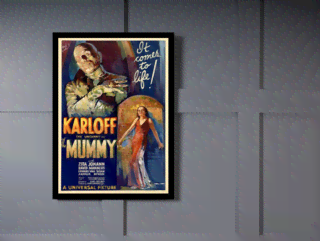 Quadro Poster Cinema Filme Mummy on internet