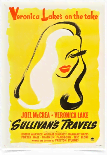 Poster Cinema Filme Sullivans Travels