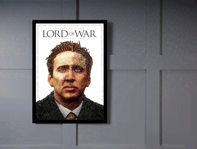 Quadro Poster Cinema Filme Lord of War na internet