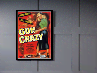 Quadro Poster Cinema Filme Gun Crazy na internet