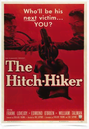 Poster Cinema Filme The Hitch Hiker