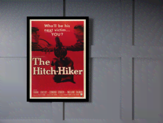 Quadro Poster Cinema Filme The Hitch Hiker en internet