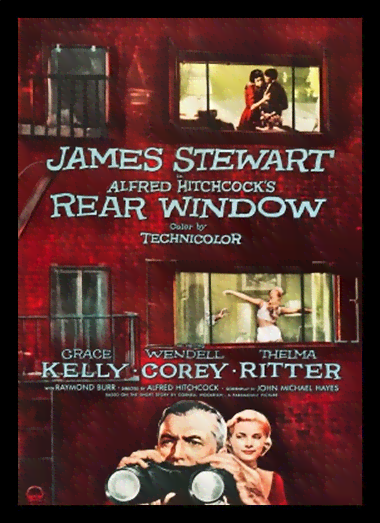 Quadro Poster Cinema Filme Rear Window