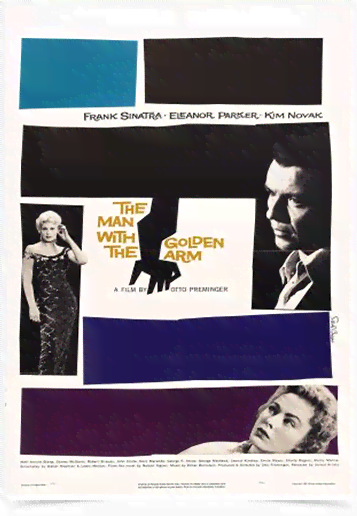 Poster Cinema Filme The Man With The Golden Arm