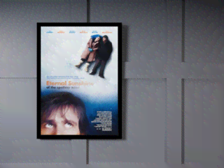 Quadro Poster Cinema Filme Eternal Sunshine on internet