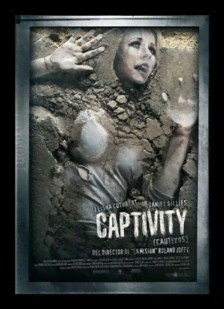 Quadro Poster Cinema Filme Captivity