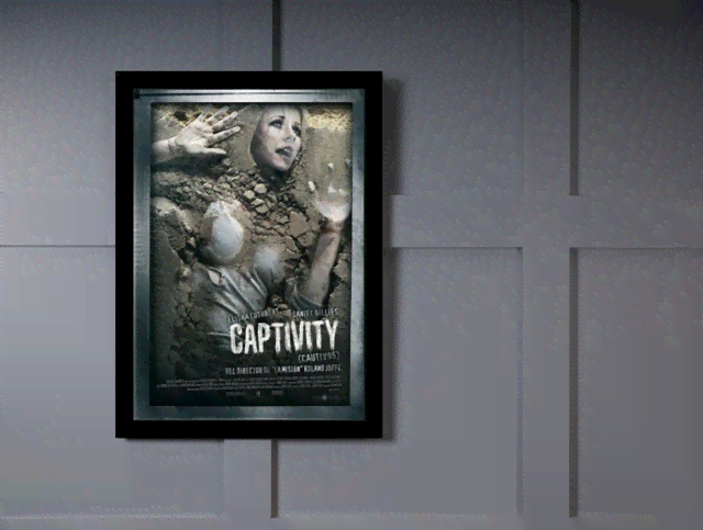 Quadro Poster Cinema Filme Captivity na internet