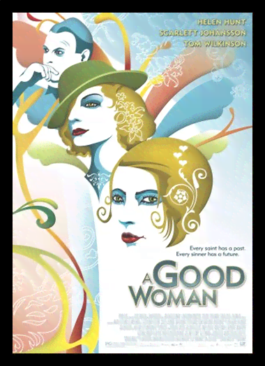 Quadro Poster Cinema Filme A Good Woman