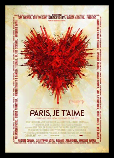 Quadro Poster Cinema Filme Paris Je Taime