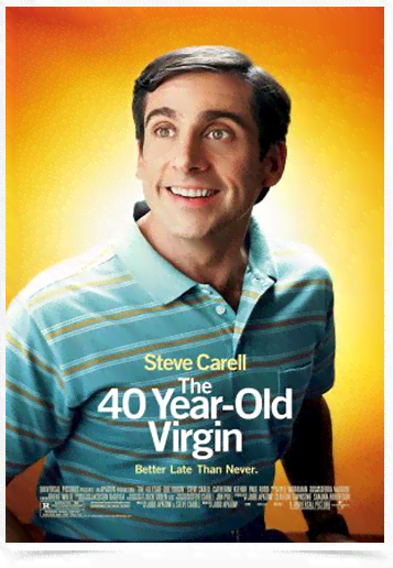 Poster Cinema Filme 40 Year Old Virgin