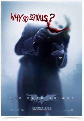 Poster Cinema Filme The Dark Knight 1