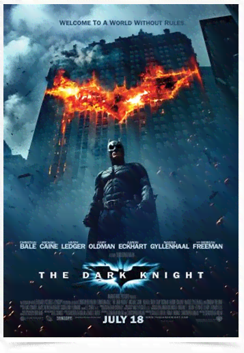 Poster Cinema Filme The Dark Knight 2