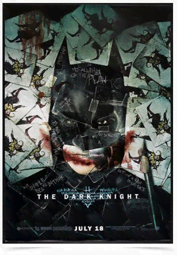 Poster Cinema Filme The Dark Knight 4