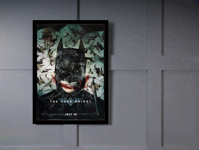 Quadro Poster Cinema Filme The Dark Knight 4 na internet