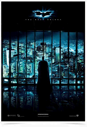 Poster Cinema Filme The Dark Knight 5