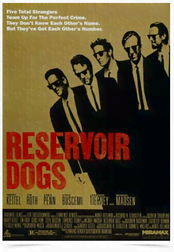 Poster Cinema Filme Reservoir Dogs