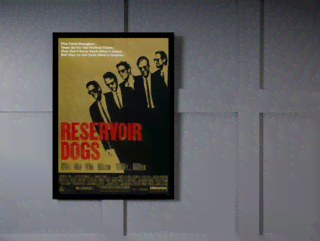 Quadro Poster Cinema Filme Reservoir Dogs na internet