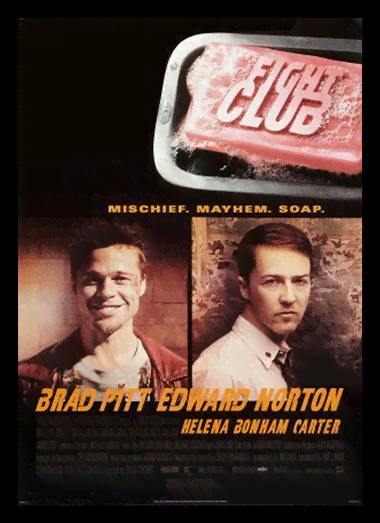 Quadro Poster Cinema Filme Fight Club