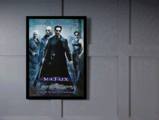 Quadro Poster Cinema Filme Matrix na internet
