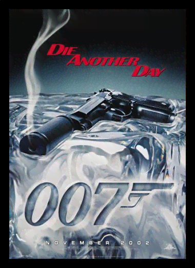 Quadro Poster Cinema Filme 007 Die Another Day