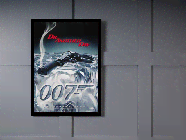 Quadro Poster Cinema Filme 007 Die Another Day na internet