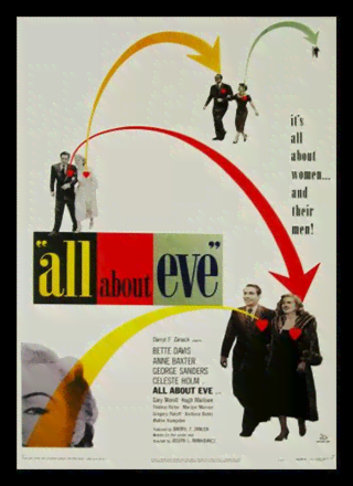Quadro Poster Cinema Filme All About Eve