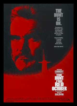 Quadro Poster Cinema Filme The Hunt For Red October