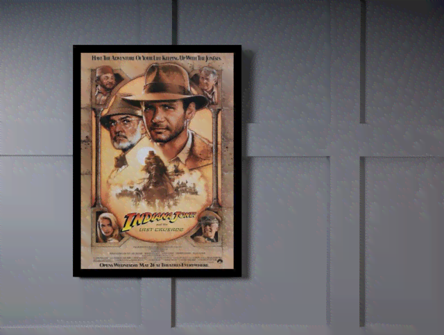 Quadro Poster Cinema Filme Indiana Jones na internet