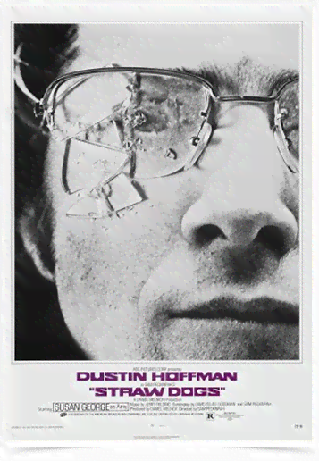 Poster Cinema Filme Straw Dogs