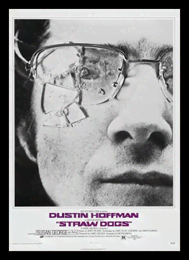 Quadro Poster Cinema Filme Straw Dogs