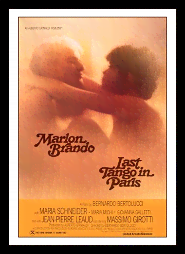 Quadro Poster Cinema Filme Last Tango in Paris