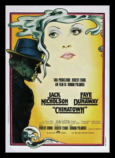 Quadro Poster Cinema Filme Chinatown
