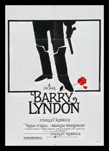 Quadro Poster Cinema Filme Barry Lyndon