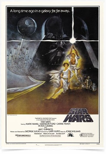 Poster Cinema Filme Star Wars