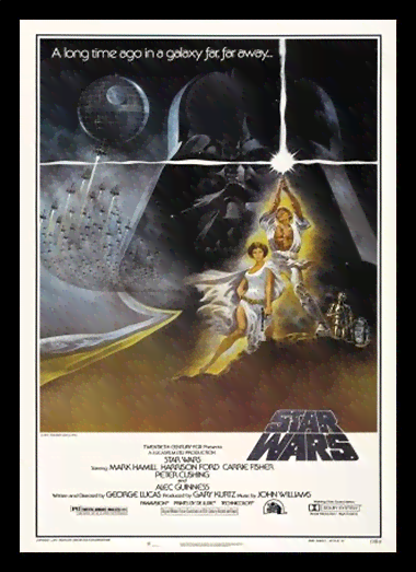 Quadro Poster Cinema Filme Star Wars