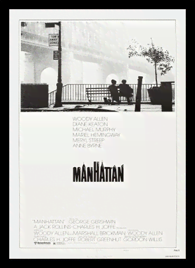 Quadro Poster Cinema Filme Manhattan