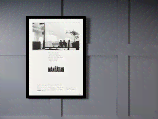Quadro Poster Cinema Filme Manhattan na internet