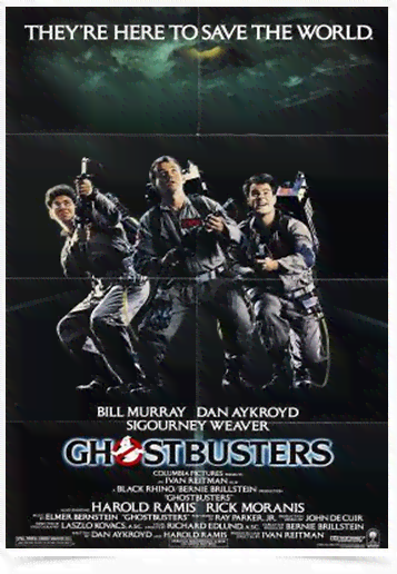 Poster Cinema Filme Ghostbusters