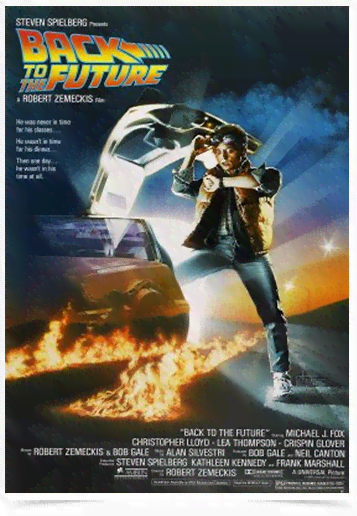Poster Cinema Filme Back to the Future