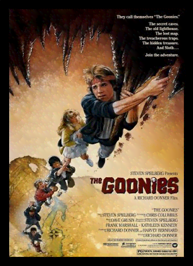 Quadro Poster Cinema Filme The Goonies