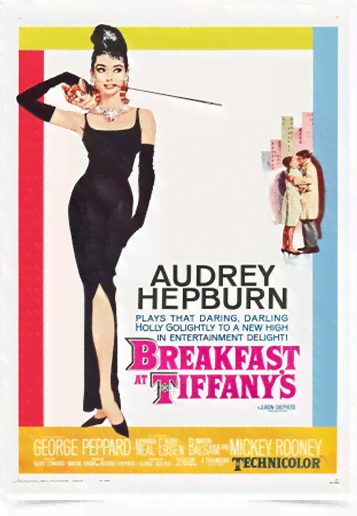 Poster Cinema Filme Breakfast at Tiffanys