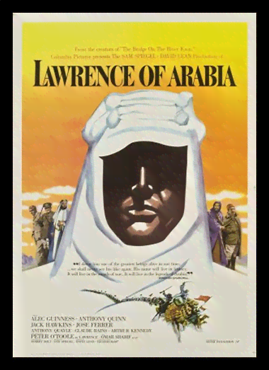 Quadro Poster Cinema Filme Lawrence of Arabia