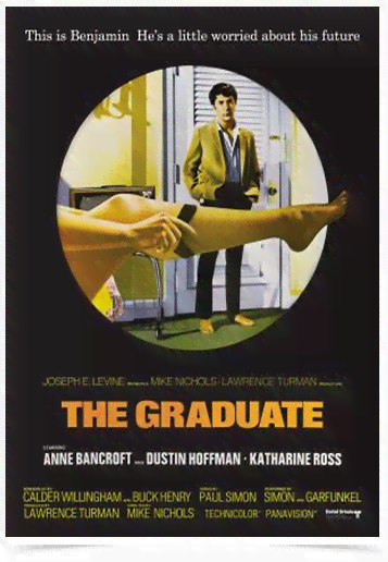 Poster Cinema Filme The Graduate