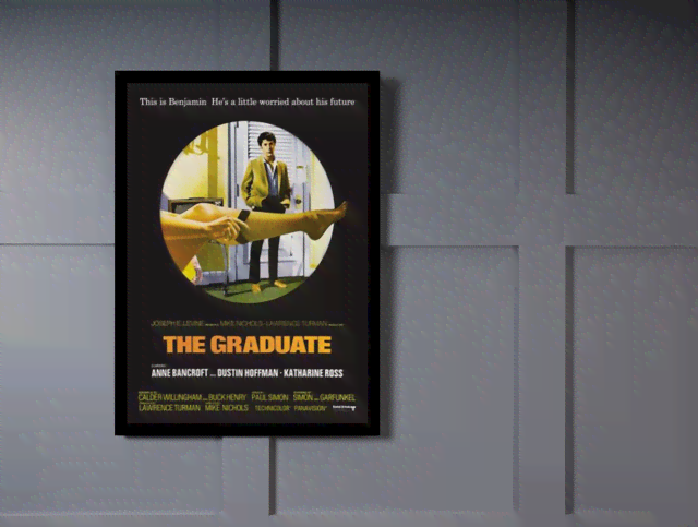Quadro Poster Cinema Filme The Graduate na internet