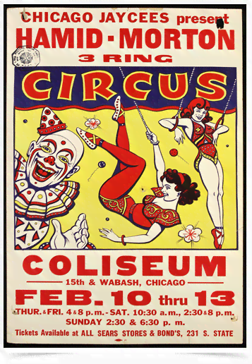 Poster Cinema Hamid Morton Circus