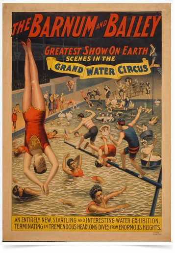 Poster Cinema Grand Water Circus