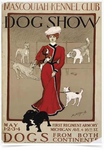 Poster Propaganda Mascoutah Kennel Club