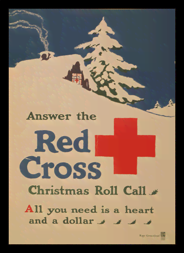 Quadro Poster Propaganda Red Cross