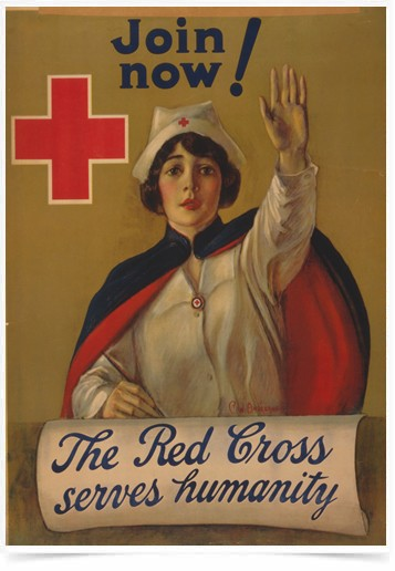 Poster Propaganda The Red Cross